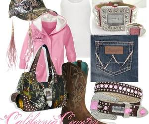 country, fashion, and camo image