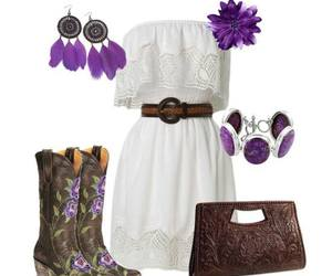 outfit, love, and purple image