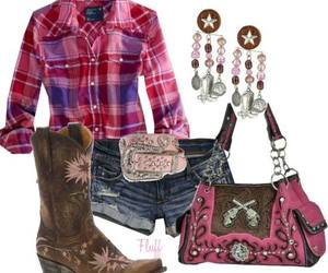 camo, outfit, and pink image