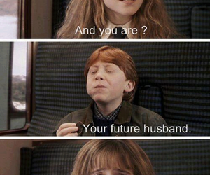 boy, harry potter, and ron weasley image