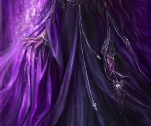 purple and fantasy image