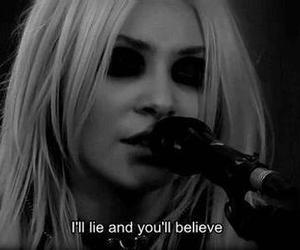 Taylor Momsen, the pretty reckless, and lies image