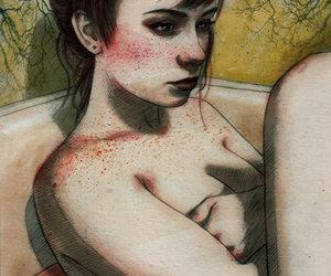 draw, grunge, and sara image