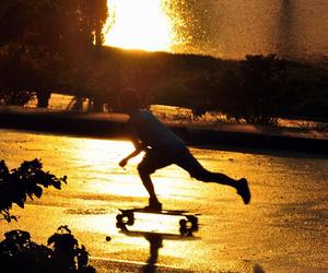can, longboard, and skate image
