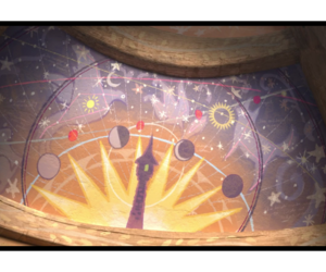 estrellas, rapunzel, and farolillos image