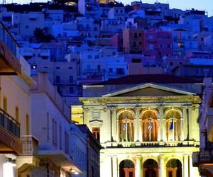 architecture, cityscape, and Greece image
