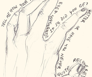 hand, quotes, and story image