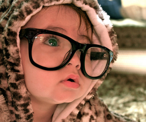 glasses, leopard print, and smart image