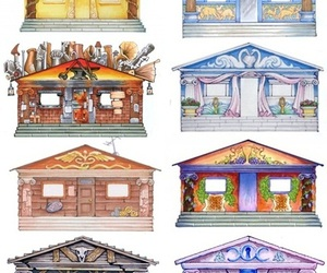 cabins, greek gods, and percy jackson image