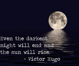 girl, quote, and victor hugo image