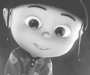 cute, agnes, and despicable me image