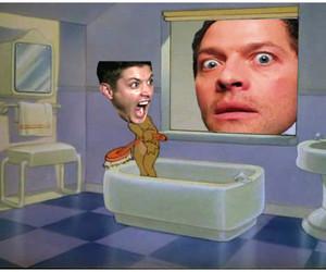 supernatural, funny, and Jensen Ackles image