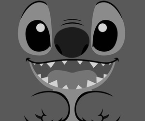 black and white, disney, and rawr image