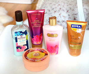 hollister, nivea, and Victoria's Secret image