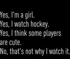 hockey, girl, and players image
