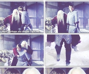 funny, merlin, and knight image