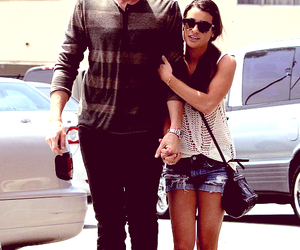 finn hudson and cute couple image