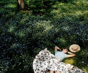 daydreaming, lolita, and sieste image