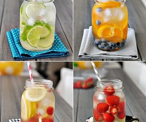 fruit, ice, and lime image