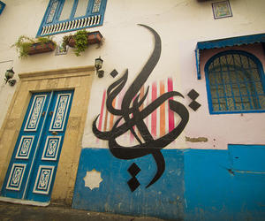 art, street art, and calligraphy image