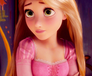 blonde, rapunzel, and cute image