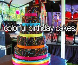 cake, birthday, and colorful image