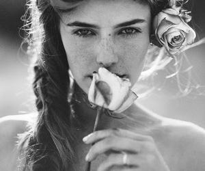 blac and white, photography, and fashion image