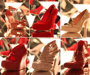 Melissa, red, and shoes image