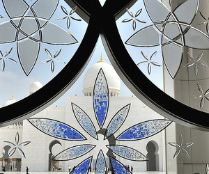 floral, islam, and mosque image