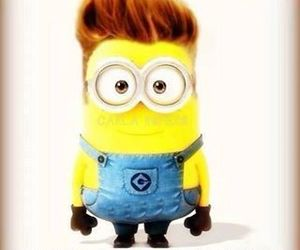 justin bieber, minions, and justin image