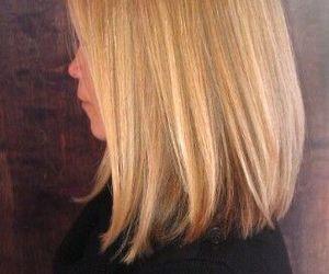 hair, hairstyle, and bob image