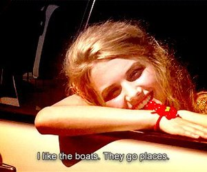 skins, cassie, and boats image