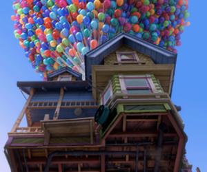 up, disney, and movie image