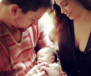 channing tatum, family, and baby image