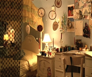 bedroom, room, and virgin suicides image