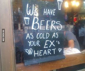 beer, cold, and beers image