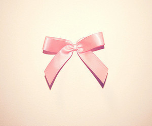 pink, bow, and ribbon image
