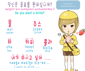 hangul and korean image