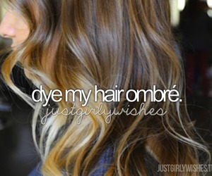 before i die, girl, and ombre image