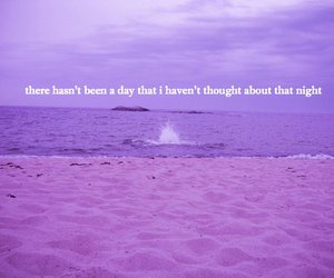 beach, quote, and i miss you image