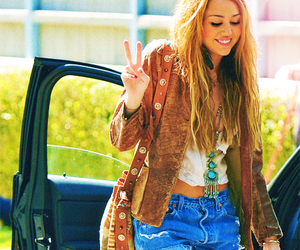 miley cyrus, miley, and peace image