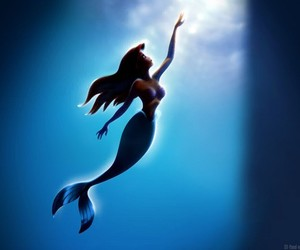 animation, little mermaid, and ariel image