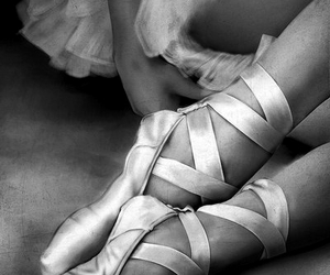 ballet, cute, and black and white image