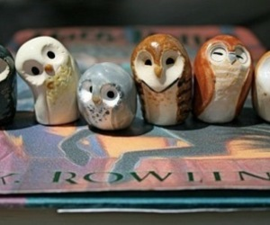 owl, harry potter, and cute image