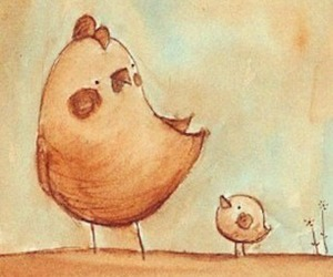 adorable, family, and baby chick image