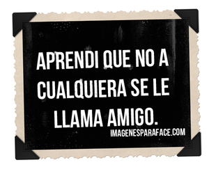 amigos, facebook, and frase image