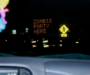 zombie and party image