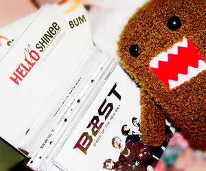 SHINee, b2st, and domo image