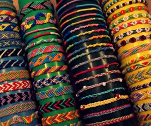 beads, colours, and friendship bracelets image