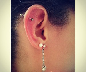 cool, earring, and girl image